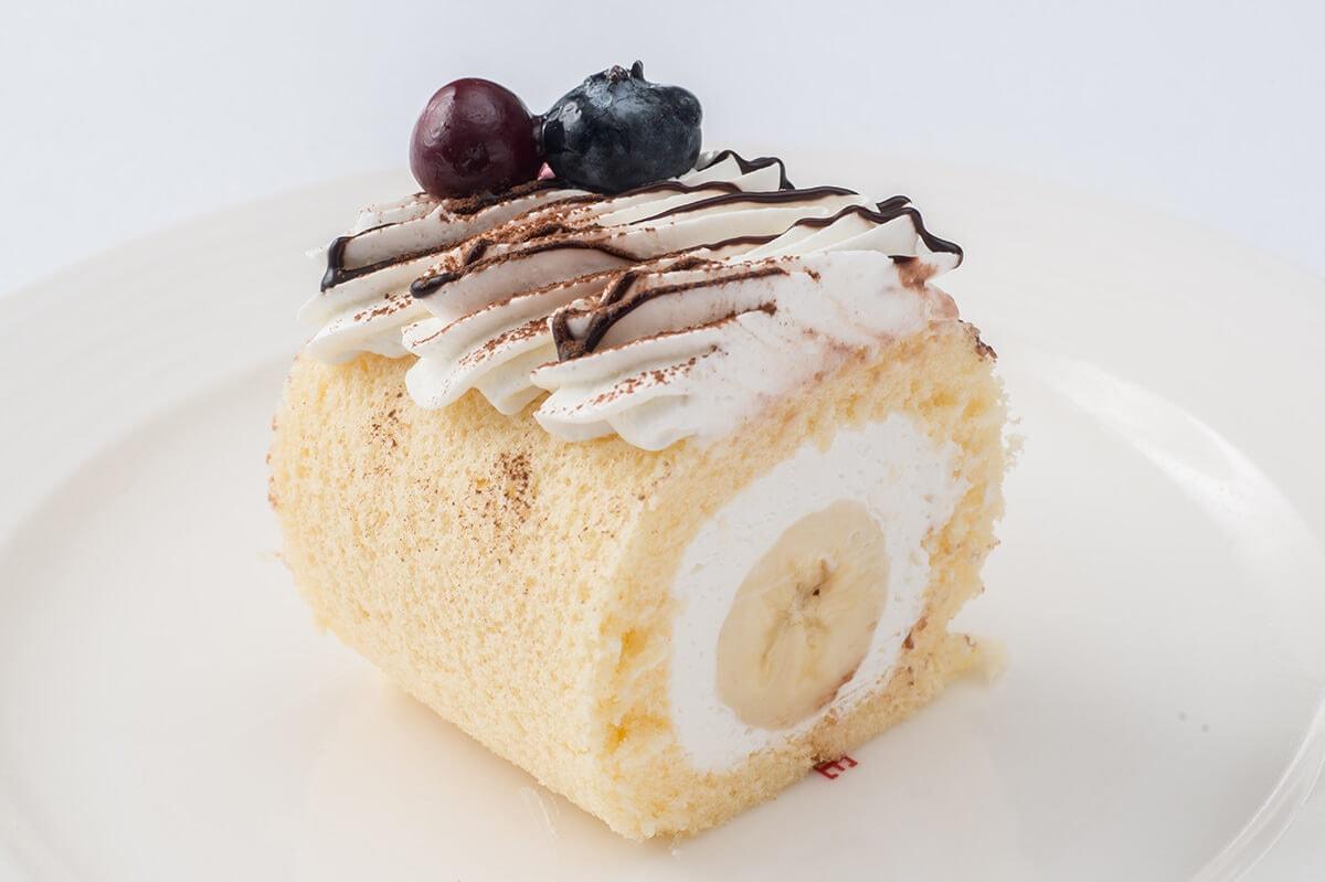 バナナオムレットケーキ スイパラ