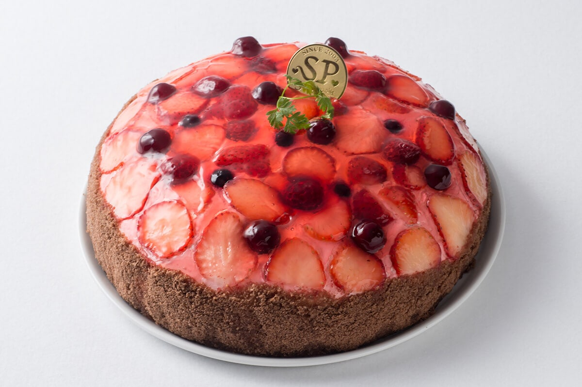 ベリーのケーキ スイーツパラダイス