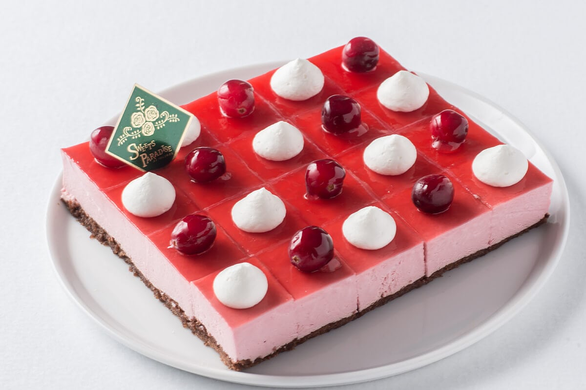 フランボワーズのムースケーキ スイパラ