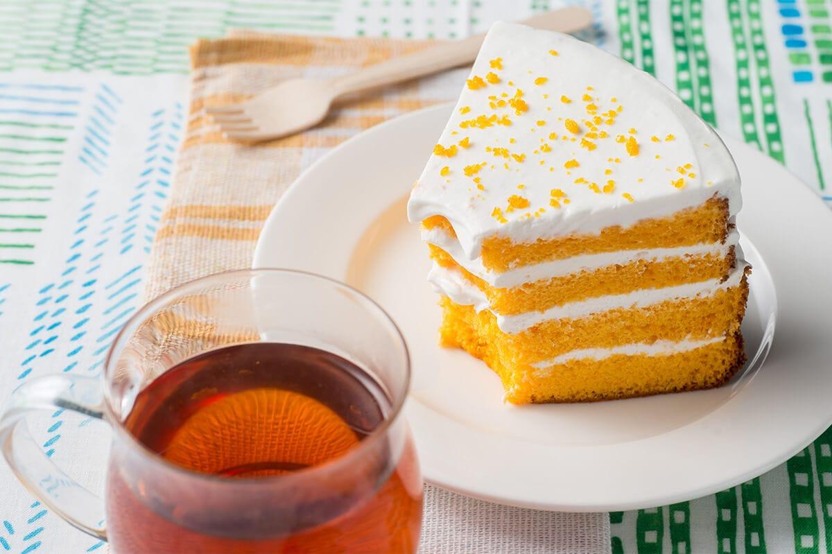 オレンジシフォンケーキ スイーツパラダイス