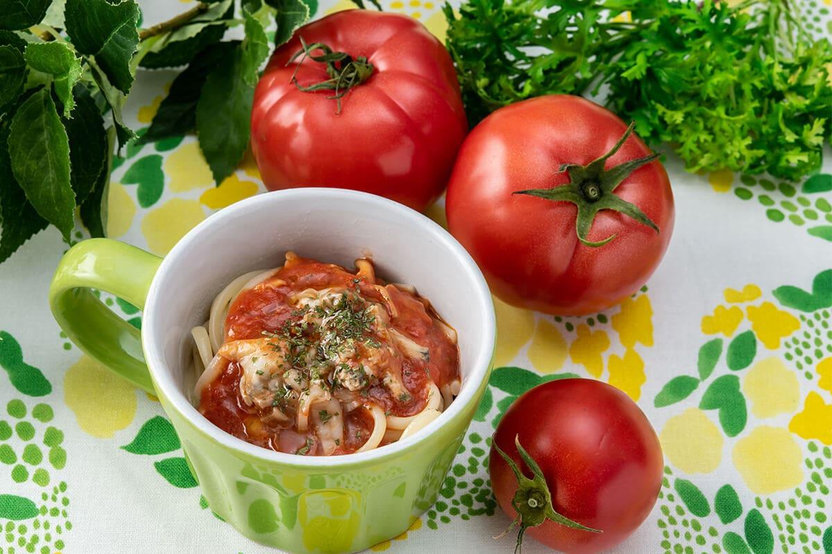 スイパラのあさりのトマトソース オレガノ風味