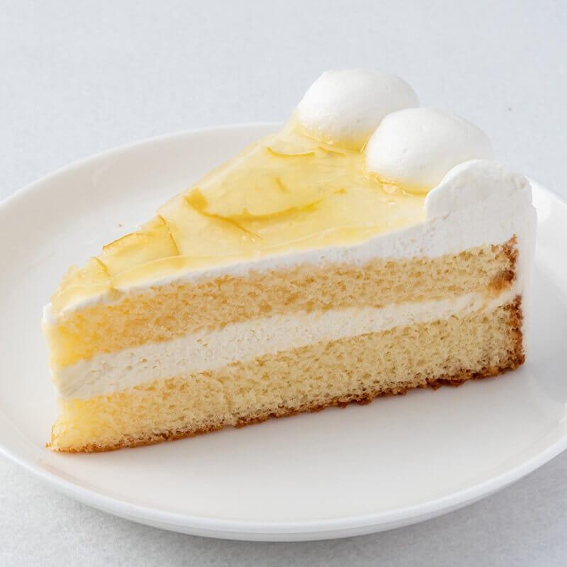 スイーツパラダイスのレモンのケーキ