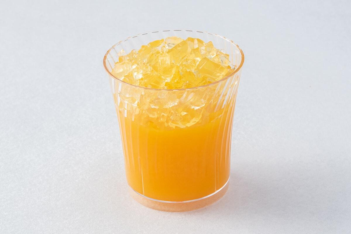 スイーツパラダイスのオレンジゼリー