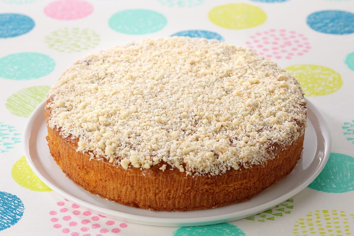 スイパラのBAKEDSWEETS ココナッツケーキ