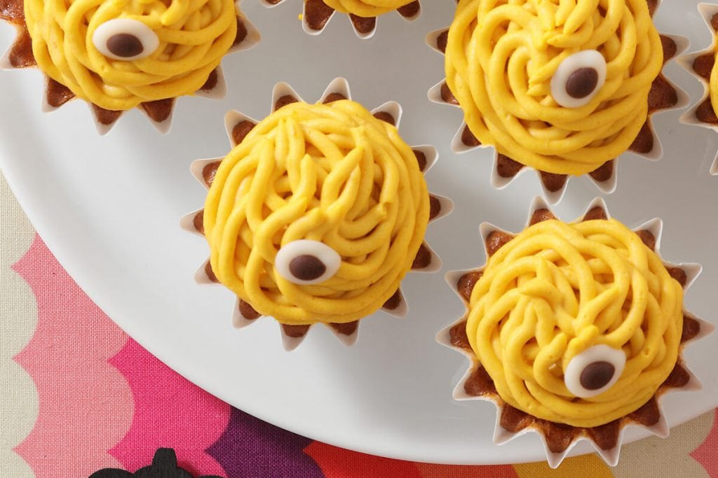 スイーツパラダイスのゴースト達のハロウィンナイトカップケーキ